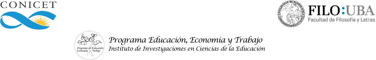 Programa Educación, Economía y Trabajo